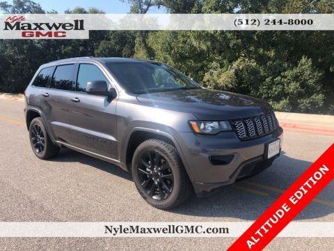 Pre-Owned 2017 Jeep Grand Cherokee Altitude RWD 4D Sport Utility