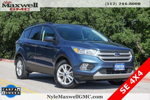Pre-Owned 2018 Ford Escape SE 4WD 4D Sport Utility