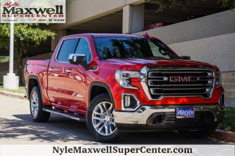 Pre-Owned 2019 GMC Sierra 1500 SLT 4WD 4D Crew Cab
