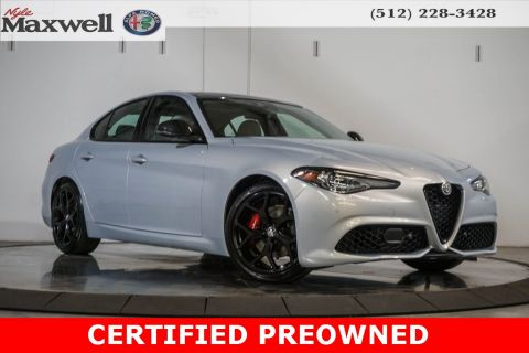 Pre-Owned 2020 Alfa Romeo Giulia Base RWD 4D Sedan