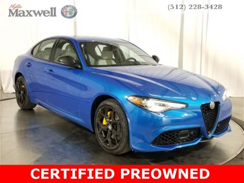 Pre-Owned 2020 Alfa Romeo Giulia Sport AWD 4D Sedan